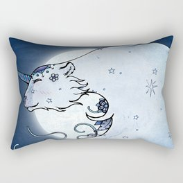Mia & The Unicorn Bear Rectangular Pillow