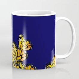 Monarchs At Midnight Coffee Mug