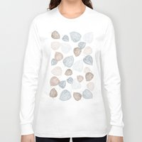 lanterns Long Sleeve T-shirts featuring Chinese Lanterns light by Grafite