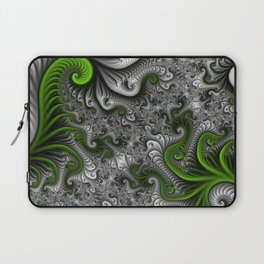 Fantasy World, abstract Fractal Art Laptop Sleeve