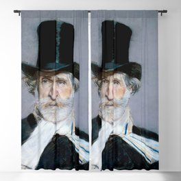 Giuseppe Verdi (1813 – 1901) by Giovanni Boldini (1842 - 1931)(2) Blackout Curtain