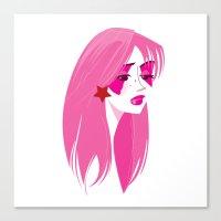 jem Canvas Prints featuring Jem by breakfastjones