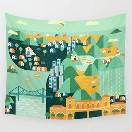 Floripa Brazil Wall Tapestry
