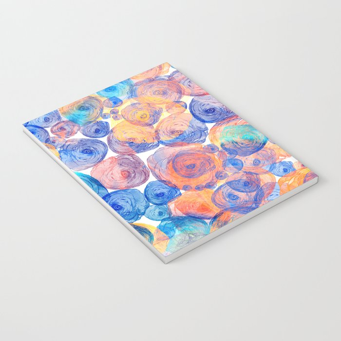 Floral abstract(44) Notebook