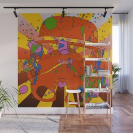T-Psychedelic Wall Mural
