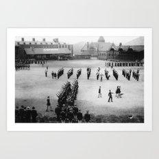 Cadets Marching Art Print