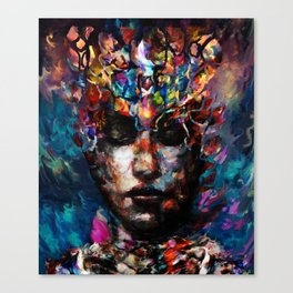 fractured but whole Canvas Print
