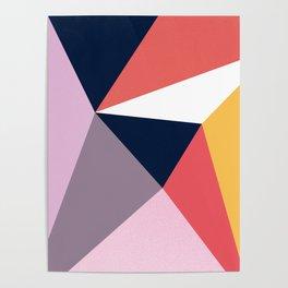 Modern Poetic Geometry Poster