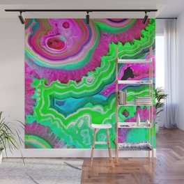 Toxic Waste Agate Wall Mural