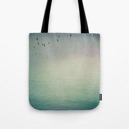 Emptiness In Between Tote Bag