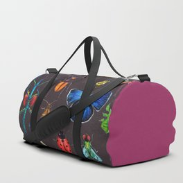 Entomology (Black) Duffle Bag