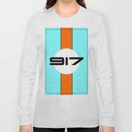 917 Gulf Racing Design Long Sleeve T-shirt