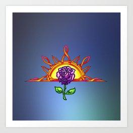 Royal Tudor's Sunrise Art Print