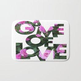 Game Of Love (Signature)   Bath Mat