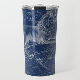Leo sky star map Travel Mug