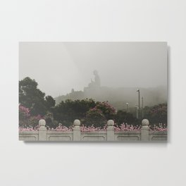 Tian Tan Buddha Metal Print