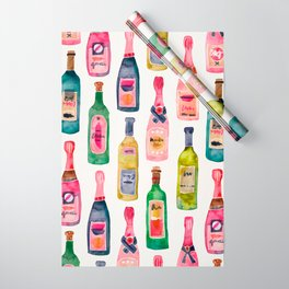Champagne Collection Wrapping Paper