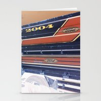 ford Stationery Cards featuring Ford by czossi