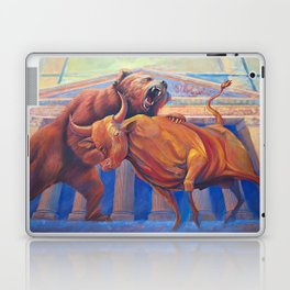 Bear vs Bull Laptop & iPad Skin