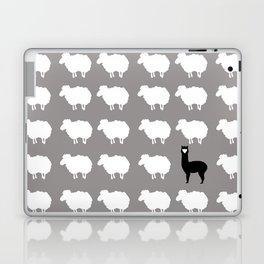 Don't be a sheep, Be a Llama Laptop & iPad Skin
