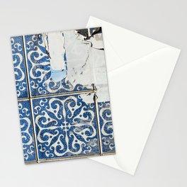 dirty azulejos Stationery Cards