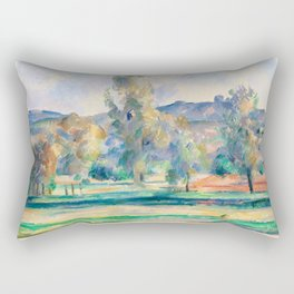 Paul Cézanne - Autumn Landscape Rectangular Pillow