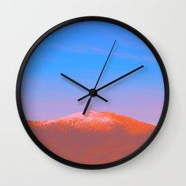 1960s Landscape VII Wall Clock