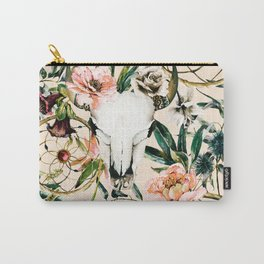 Floral bohemian pattern Carry-All Pouch