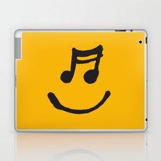 Music Makes Me Happy Laptop & iPad Skin