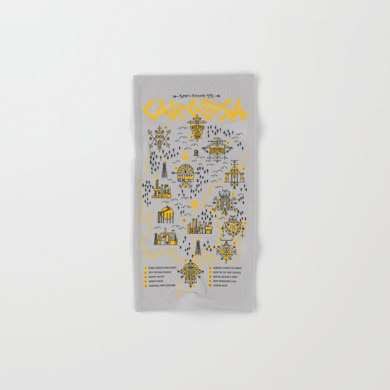 Welcome to Carcosa Hand & Bath Towel