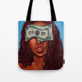 blinded Tote Bag