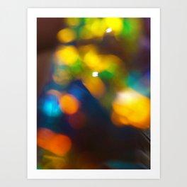 Adia - Abstract Light Photography Art Print