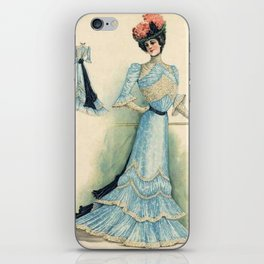 Well dressed Victorian Lady iPhone Skin