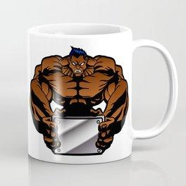 bodybuilder illustration Coffee Mug
