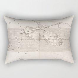 Johann Bayer - Uranometria / Measuring the Heavens (1661) - 26 Libra Rectangular Pillow