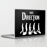 1d Laptop & iPad Skins featuring 1D Road by pygmy