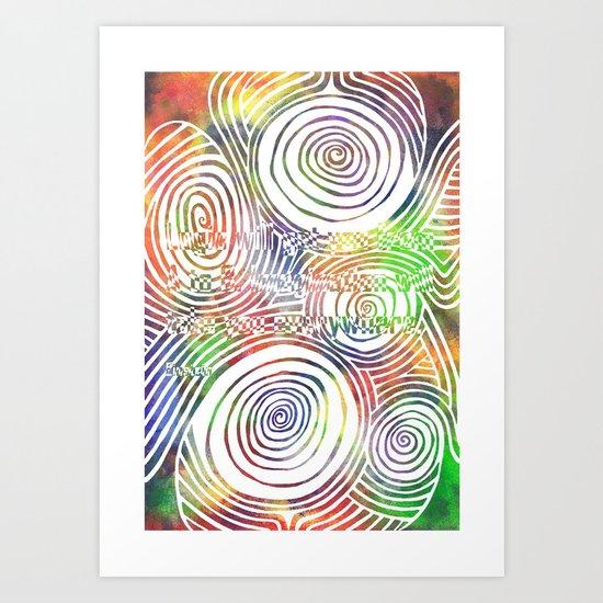 Imagination will take you everywhere Art Print