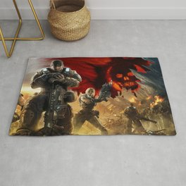 Gears Of War 09 Rug