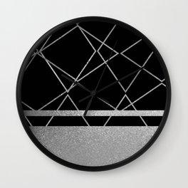 Silverado: Black Wall Clock