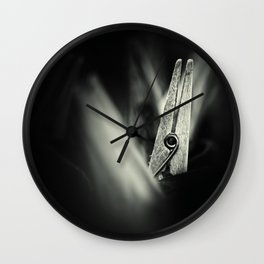 Just hanging around... Wall Clock