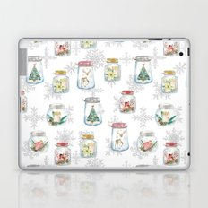 Christmas glass jars Laptop & iPad Skin
