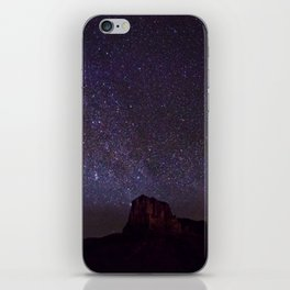 El Capitan at Night iPhone Skin