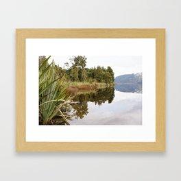 New Zealand - South Island Framed Art Print