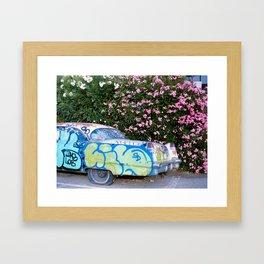 Auto Graffti Framed Art Print