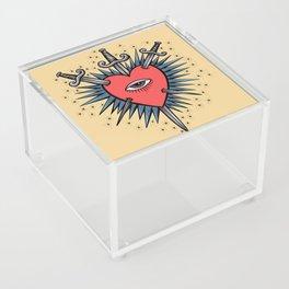 Three of Swords Acrylic Box