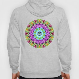 Beautiful colorful abstract mandala Hoody