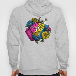 Pride Pansexual D20 Tabletop RPG Gaming Dice Hoody