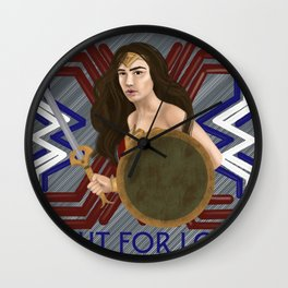Fight For Love Wall Clock