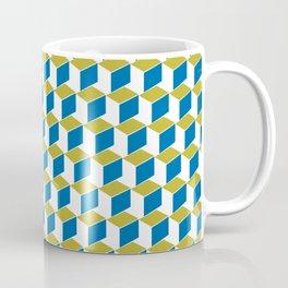Geometric Box Coffee Mug