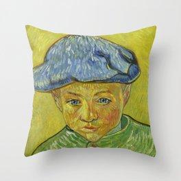 "Vincent van Gogh ""Portrait of Camille Roulin"" Throw Pillow"